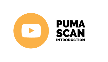 you tube button to take users to an introduction of the Puma Scan product