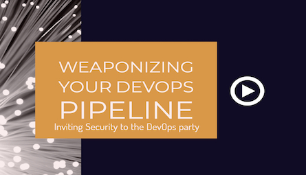 learn how to weaponize your devops pipeline, users can click on the slideshare button